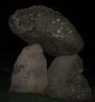Ballymascanlon - Proleek Dolmen by Night