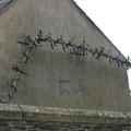 Derry - City Walls - Barbed Wire