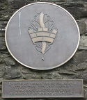 Derry - City Walls - Memorial Plaque