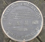 Derry - Penal Law Emigration Plaque