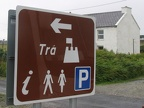 Achill Island - Doogort Beach - Sign2