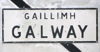 Galway - Road Sign