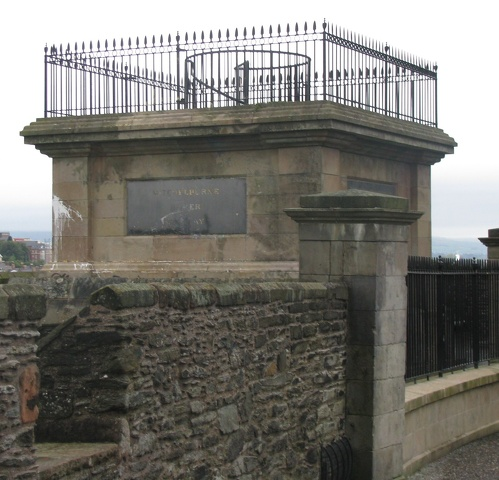 Derry - City Walls - George Walker Memorial.jpg