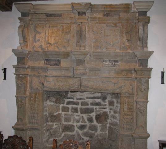Donegal - Donegal Castle - Fireplace.jpg